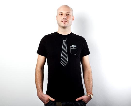 Unikatna majica – Kravata