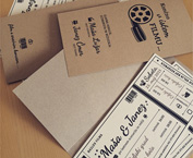 Poročno vabilo – Končno v istem filmu… / Wedding invitation – Finally, in the same film …